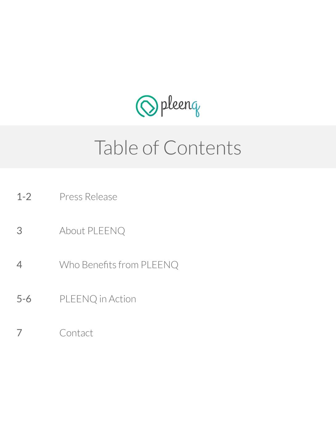 PLEENQ, LLC Media Kit 2015 - Copy-2