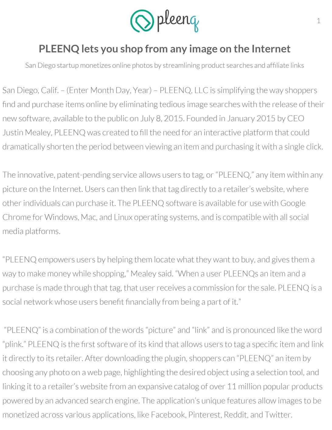 PLEENQ, LLC Media Kit 2015 - Copy-3