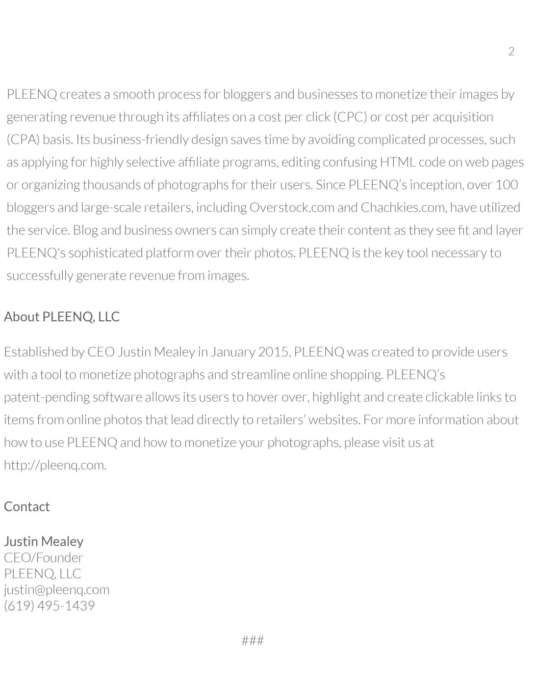 PLEENQ, LLC Media Kit 2015 - Copy-4
